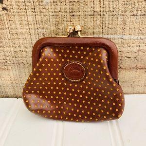 Dooney & Bourke Vintage Leather Coin Purse